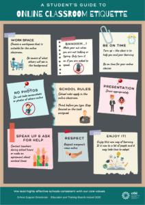 ETBI Online Classroom Etiquette