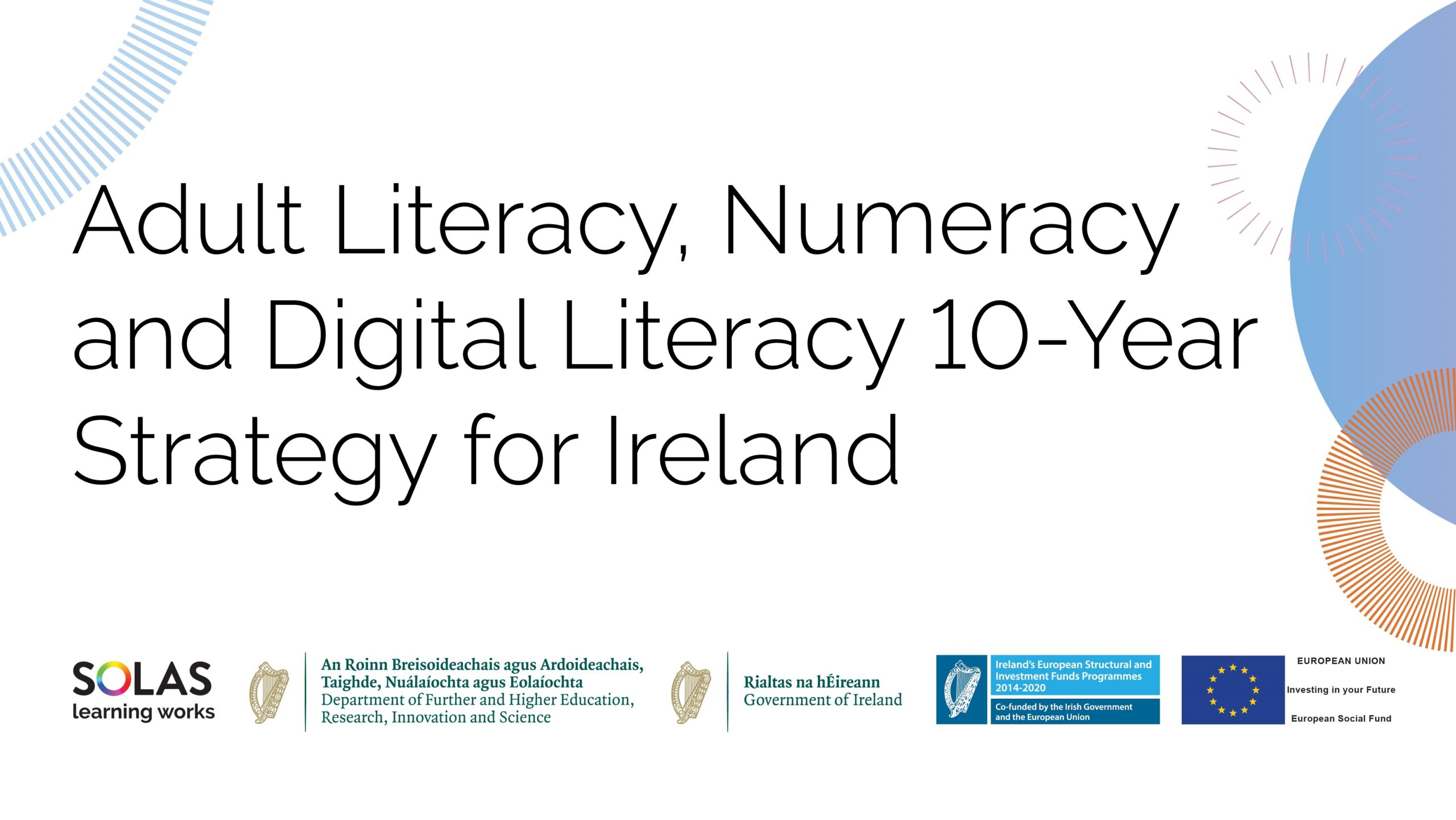 Solas Adult Literacy 10 Year Strategy