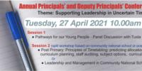 ETBI Principals and Deputy Principals Conference – April 27th, 2021
