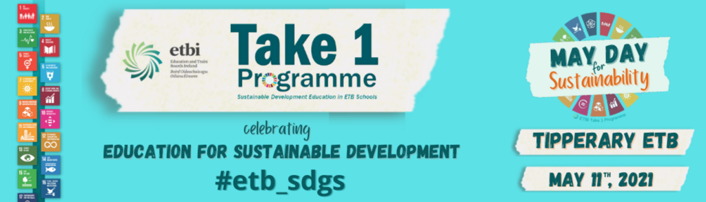 ETBI Take 1 Programmme – May Day for Sustainability