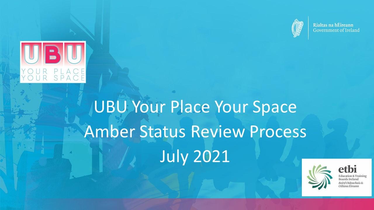 Amber Review Status