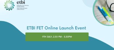 ETBI FET Online Launch Event