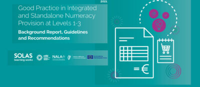 Good Practice in Integrated and Stand Alone Numeracy Provision Report Launched